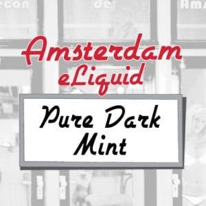 Amsterdam e-Liquid Pure Dark Mint