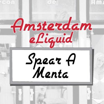 Amsterdam e-Liquid Spear A Menta