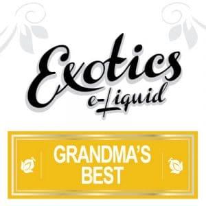 Exotics Grandma's Best e-Liquid