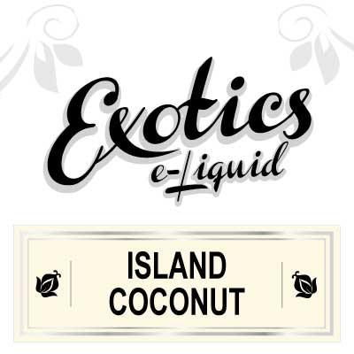 Island Coconut e-Liquid