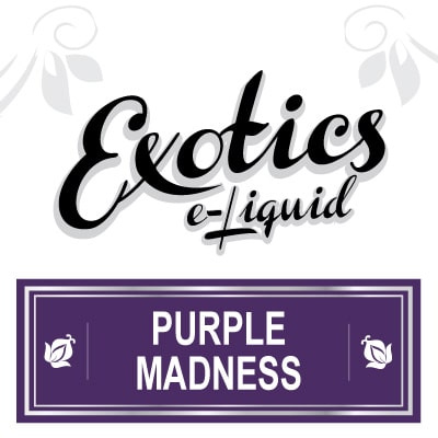 Exotics e-Liquid Purple Madness