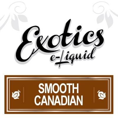 Exotics e-Liquid Smooth Canadian
