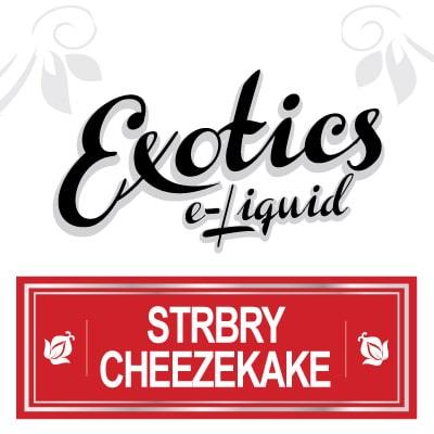 Exotics e-Liquid Strbry Cheezekake