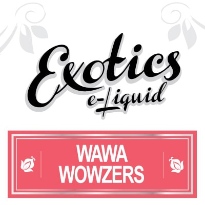 Exotics e-Liquid Wawa Wowzers