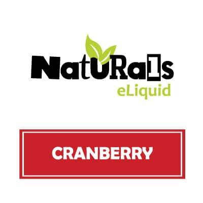 Naturals e-Liquid Cranberry
