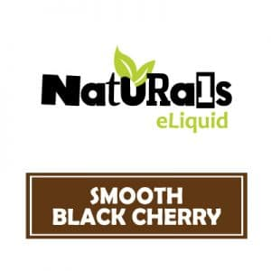 Naturals e-Liquid Smooth Black Cherry