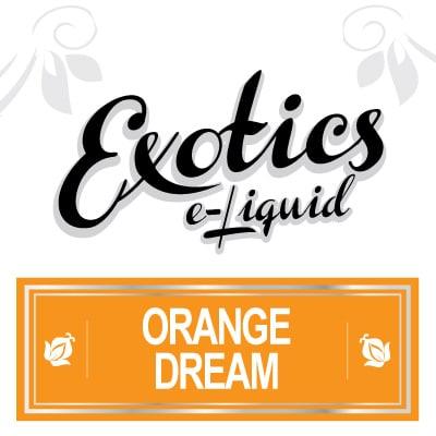 Exotics e-Liquid Orange Dream