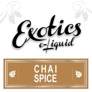 Chai Spice e-Liquid, Exotics, eJuice, Sweet, Drink Flavours, Vape, Vaping
